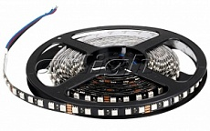 Лента 021759 RT 2-5000 24V RGB 3X (5060, 84/420 LED, BLACK)