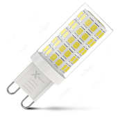 Лампа LED X-flash XF-G9-С64-4.5W-3000K-230V (арт. 48946)